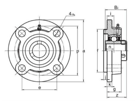 Mounted bearing units & inserts UCFC